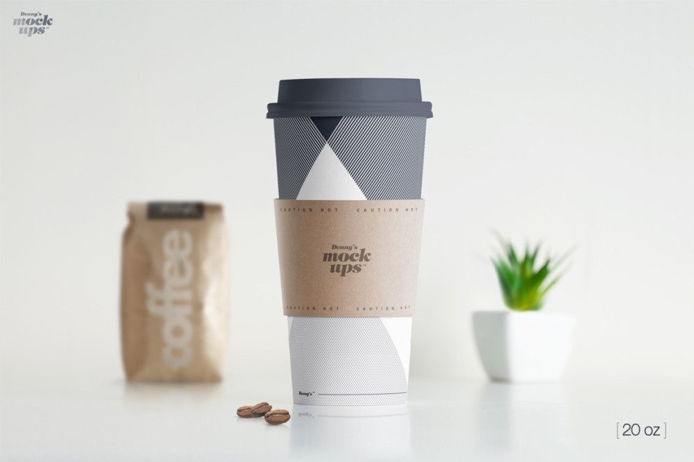 Ultra Realistic Coffee Cup Mockup
