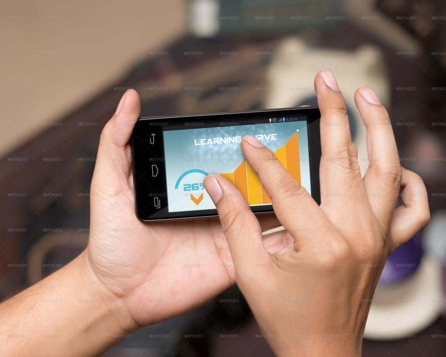 Ultra Realistic Mobile PSD Mockup