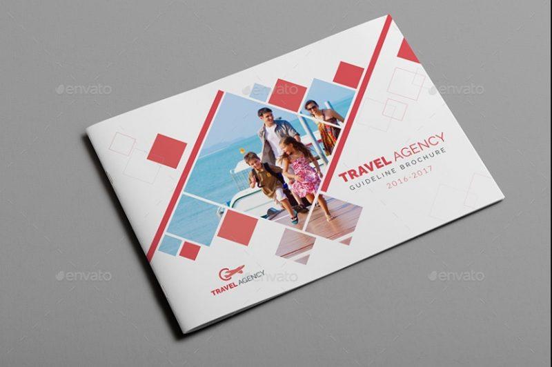 Unique Travel Brochure Template