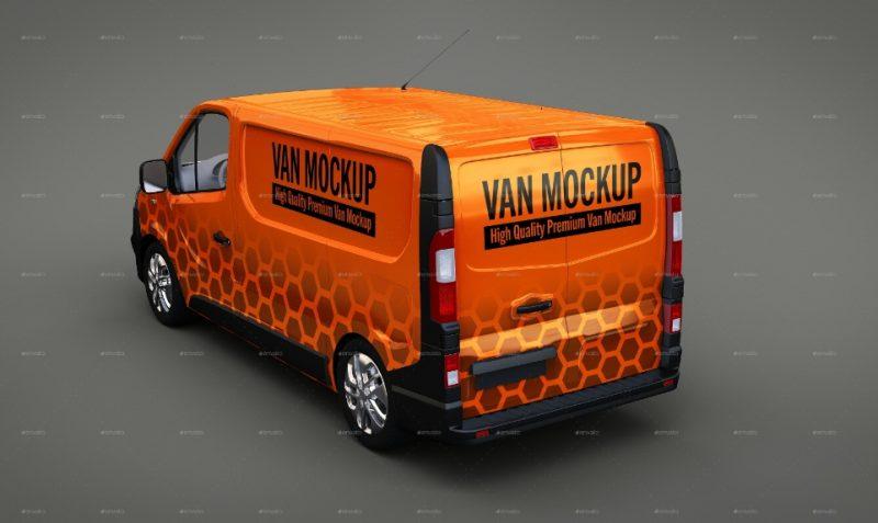 Van Mockup PSD