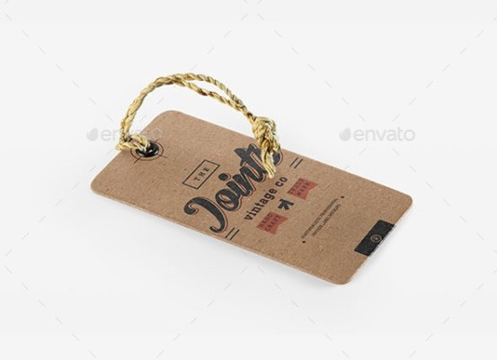 Vintage Label Logo Mock-up