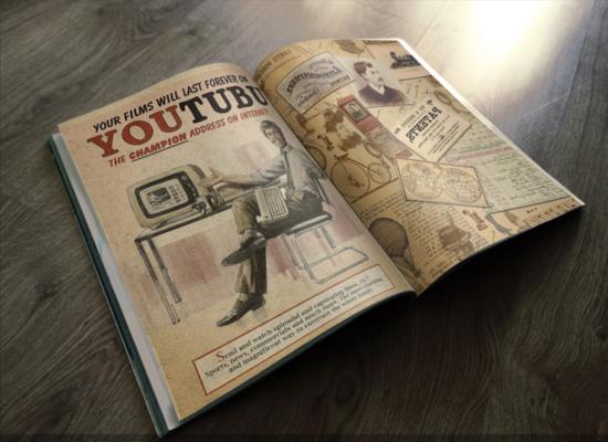 Vintage Magazine Mockup
