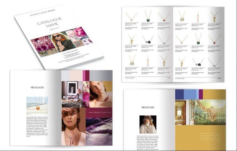 Wholesale Brochure Template PSD