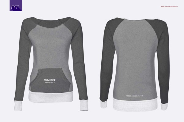 Women Sweat Shirt Mockup