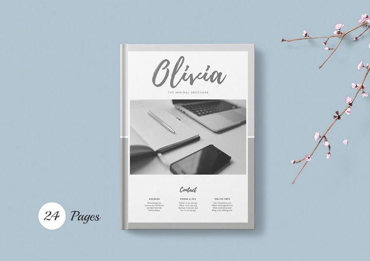 Word Magazine Brochure Template