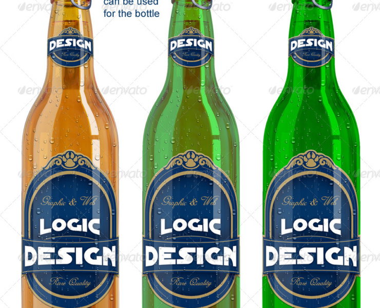 amazing beer packaging mock-up