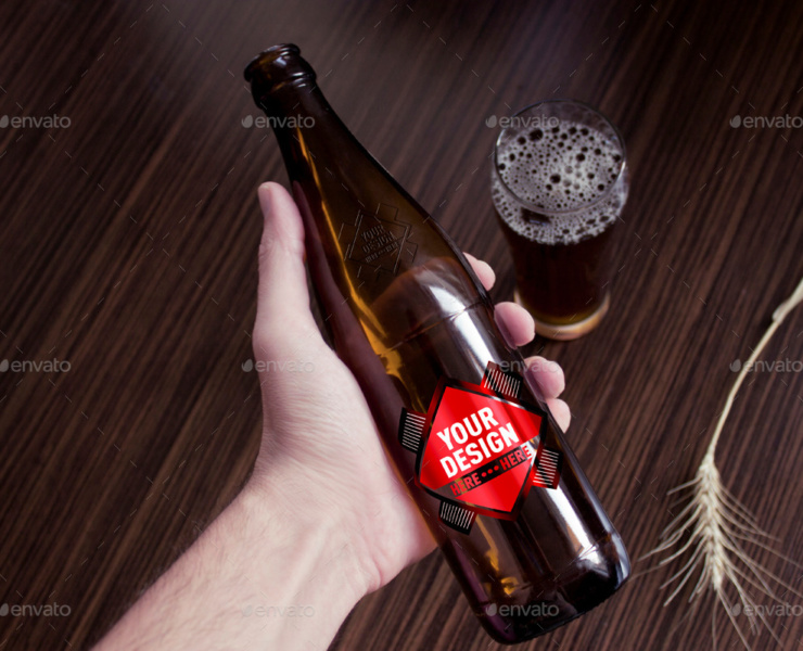 amazing beer packaging mock-up best mock-up