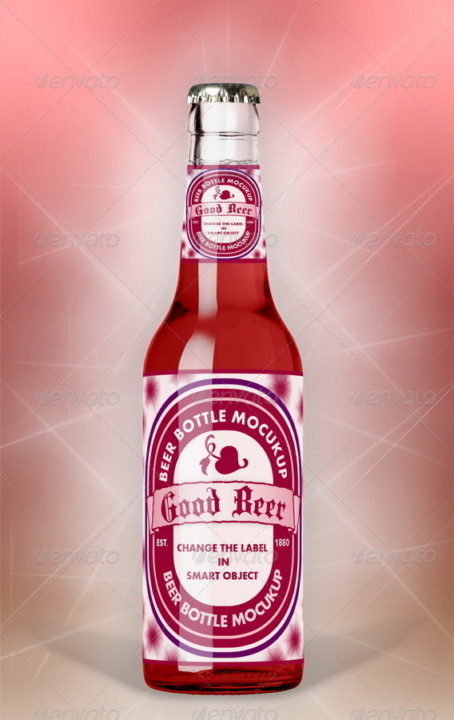 amazing beer packaging mock-up realistic mock-up creative
