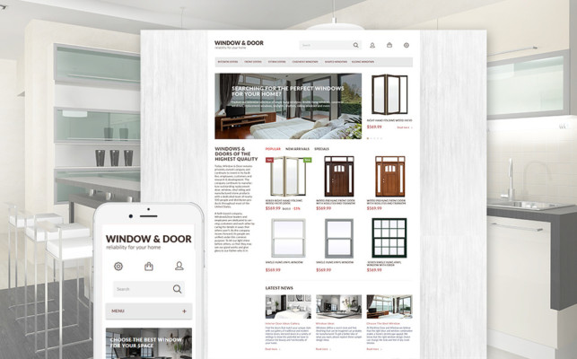 e Commerce Theme for Online Furniture Store