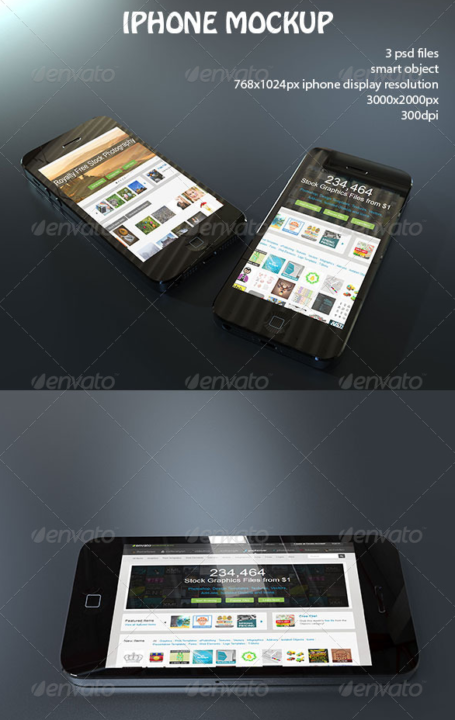i Phone and Tablet Mockup