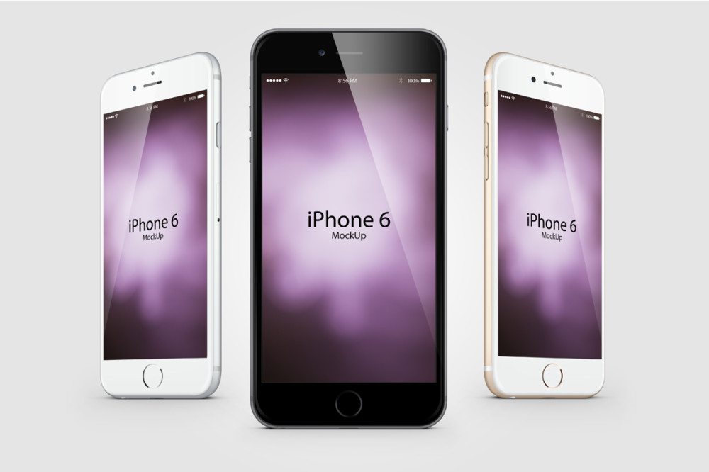 iphone 6 Mobile Mockup Composition