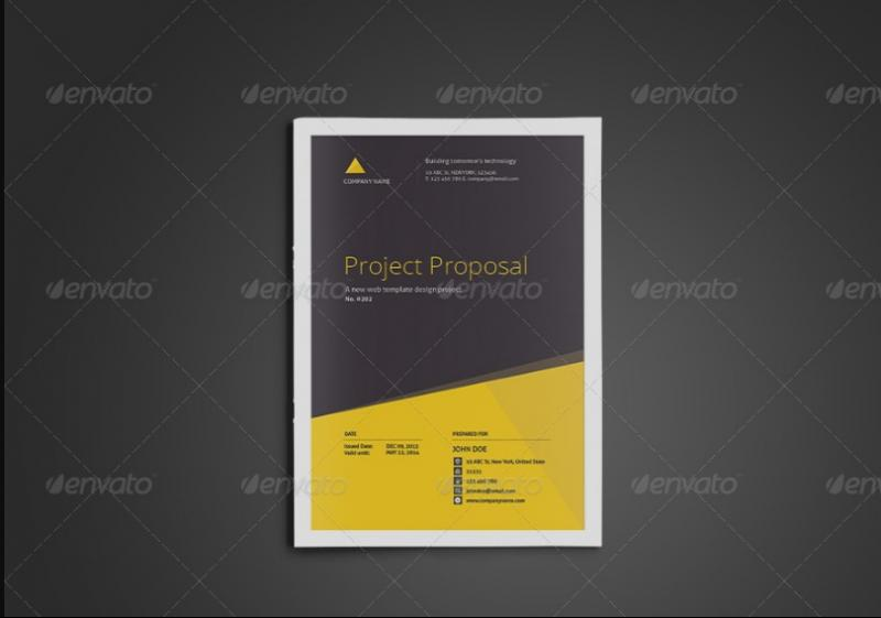 15 Pages Training Proposal Template