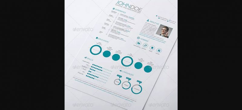 3 Piece Resume Word Template