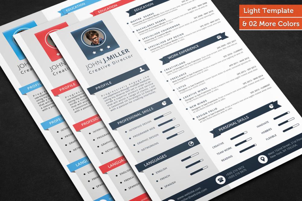 6 Professional Resume Templates