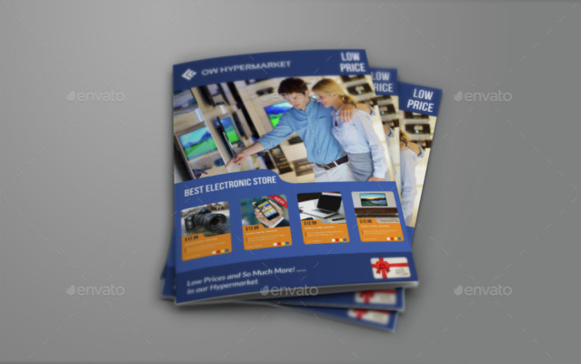 A4 Product Brochure Template