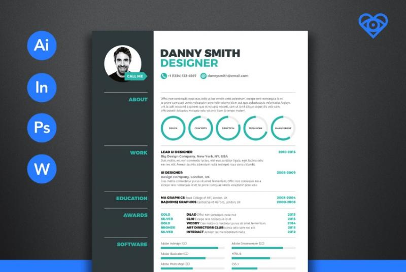 A4 Sales Resume Template