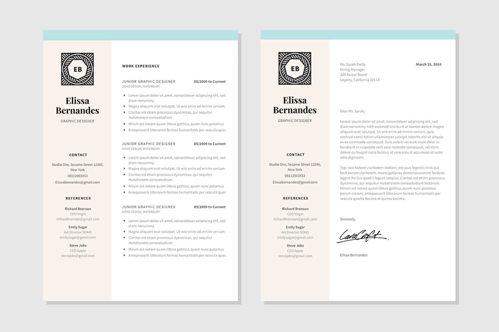 A4 and US Letter Nurse Resume Template