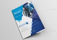 A5 Medical Equipment Brochure Template