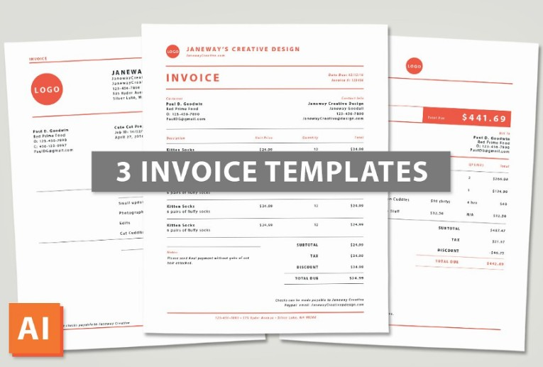 Ai Commercial Invoice Template