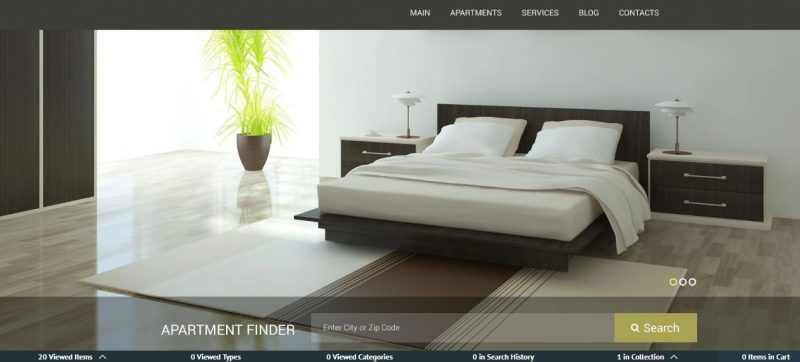 Apartments Rent WordPress Theme