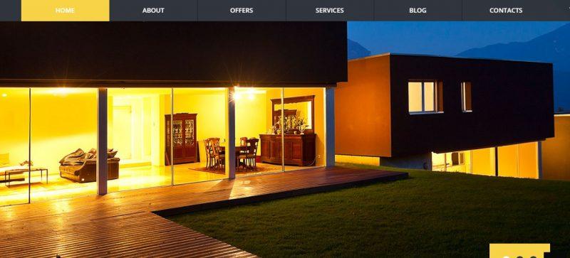 Attractive Real Estate WordPress Theme