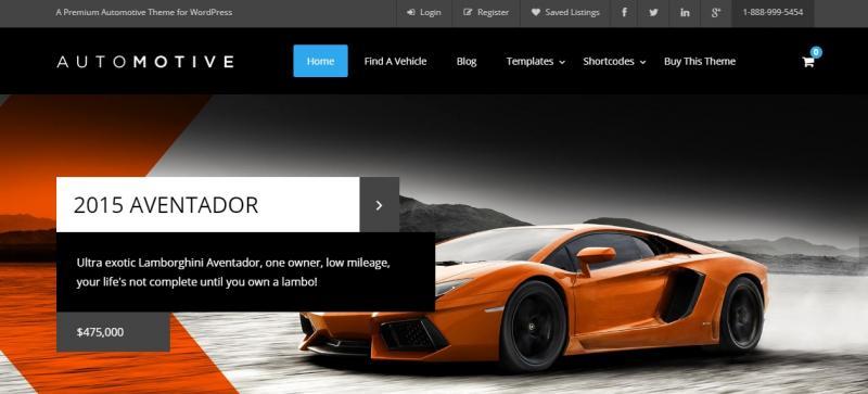 Automotive WordPress Theme Best