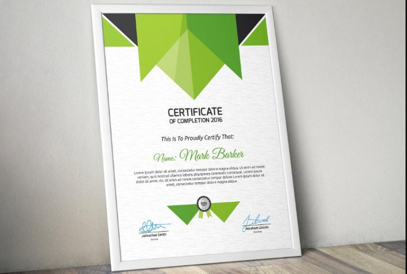 Best Certificate Template