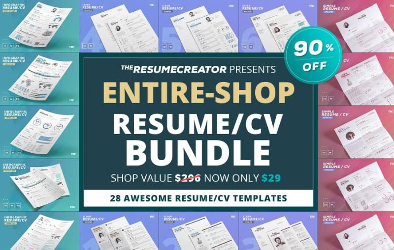 Best Selling Resume Template