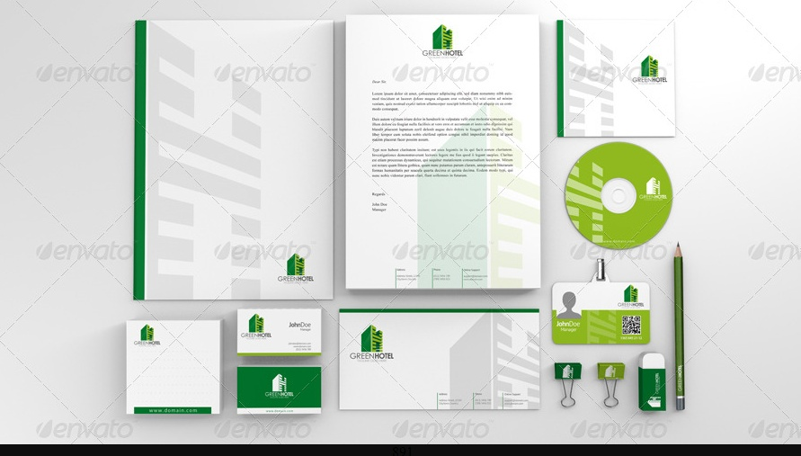 Business Branding Mockup PSD