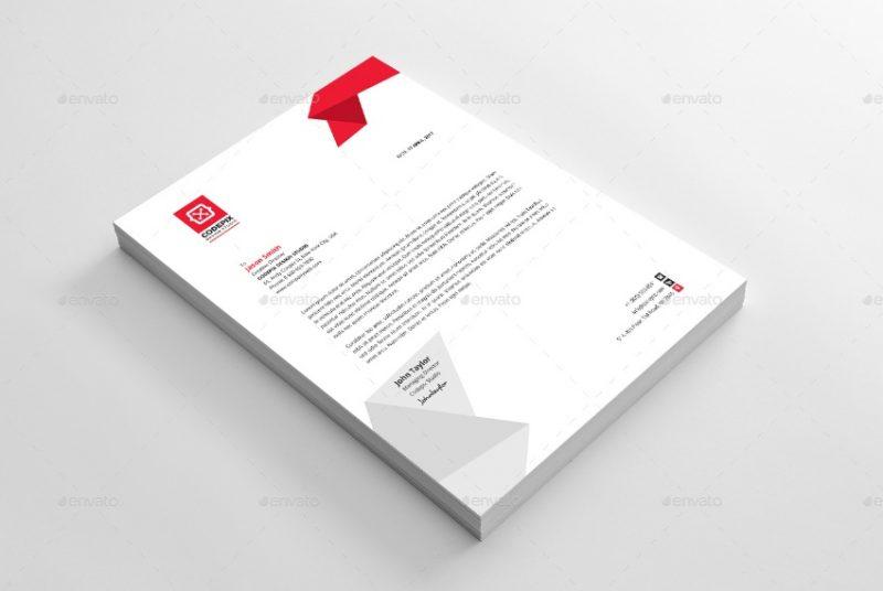 Business Letterhead Template PSD