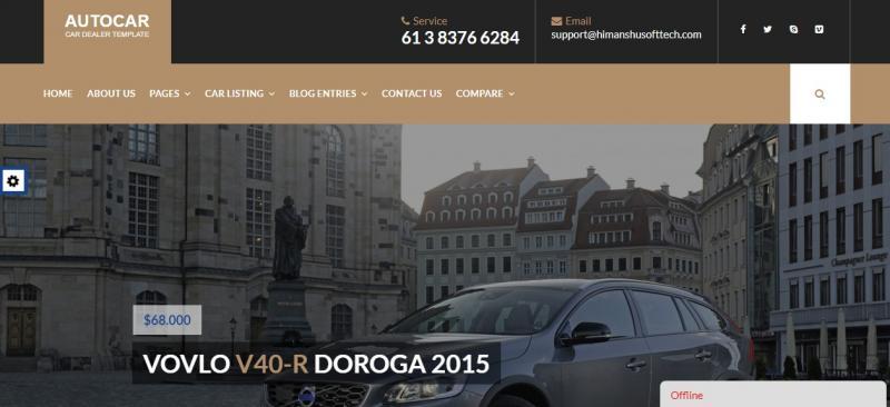 Car Dealer WordPress Thema