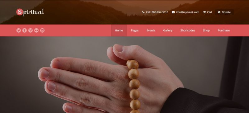 Church SEO WordPress Theme