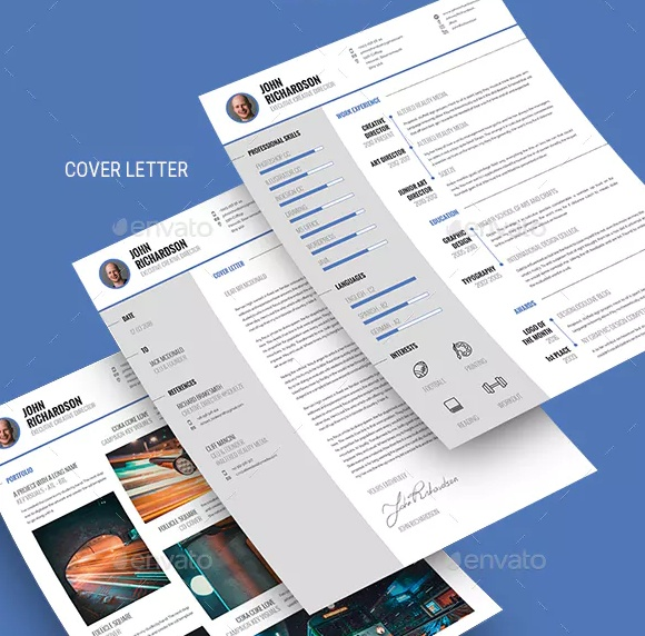 Clean CV Resume Template