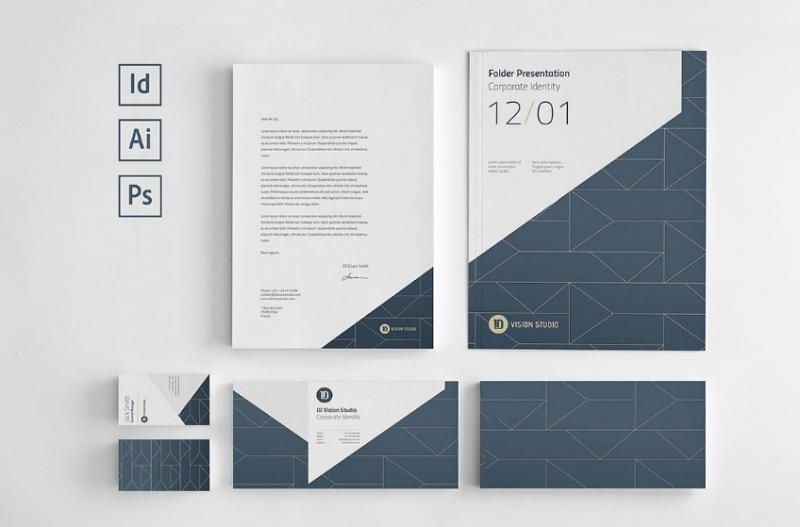 Clean Corporate Branding Template