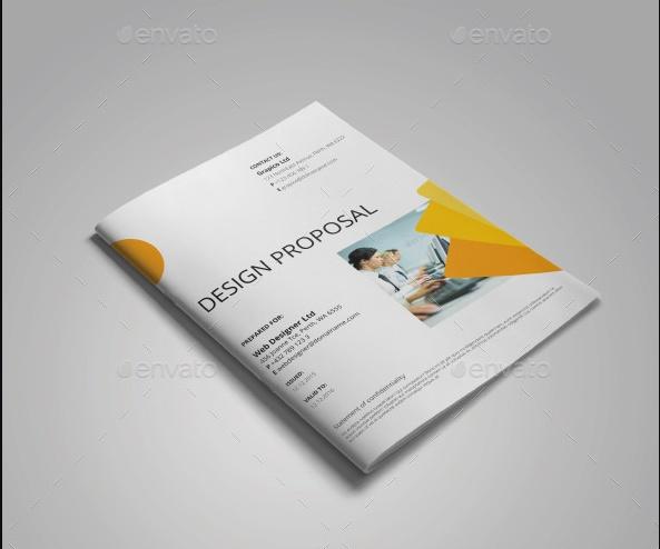 Clean Design Proposal Template