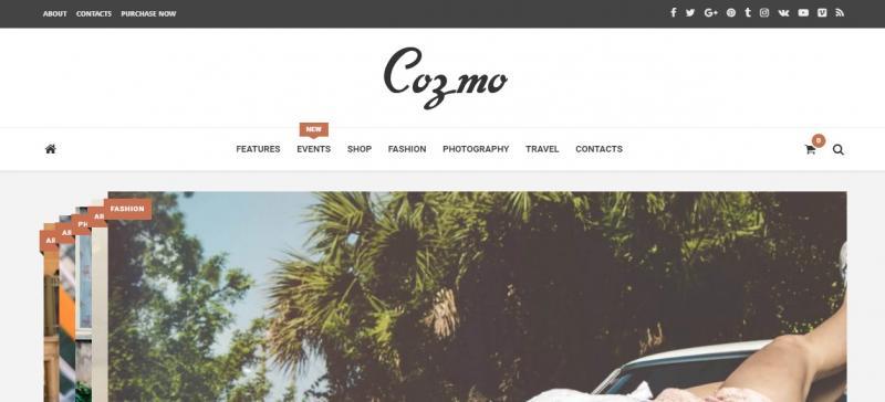 Clean E Commerce WordPress Theme