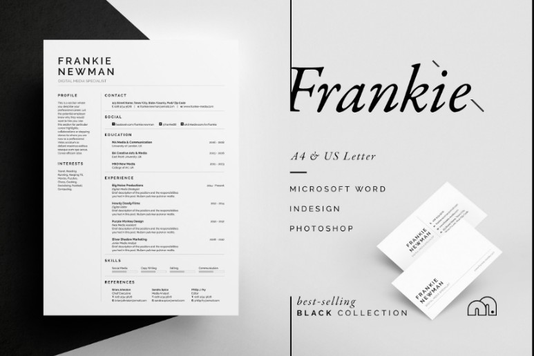 Clean IT Resume Template