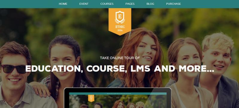 Clean University WordPress Theme