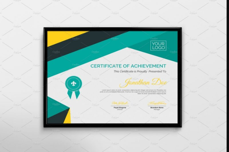 Company Attendance Certificate Template