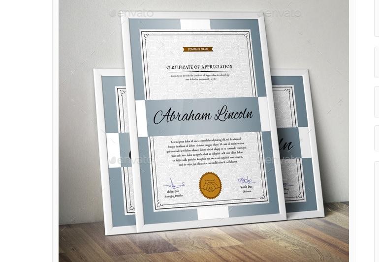 Corporate Certificate of Appreciation