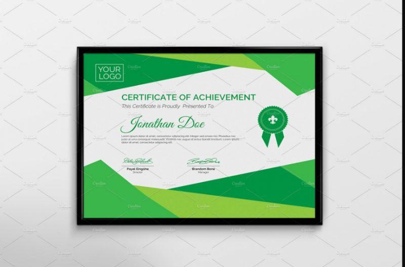 Corporate Certificate of Attendance Template