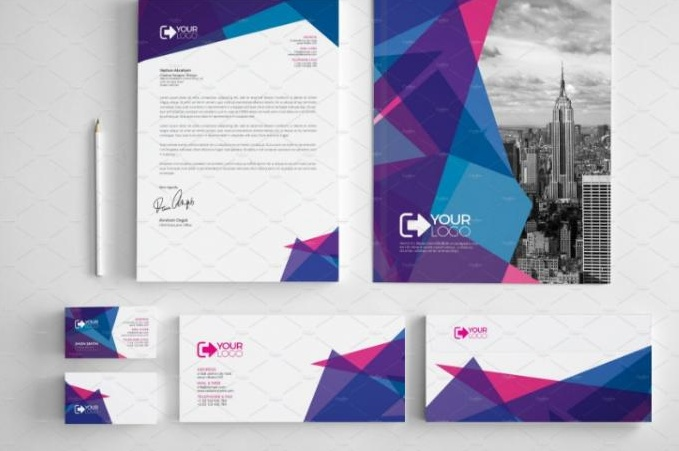 Corporate Stationary Template