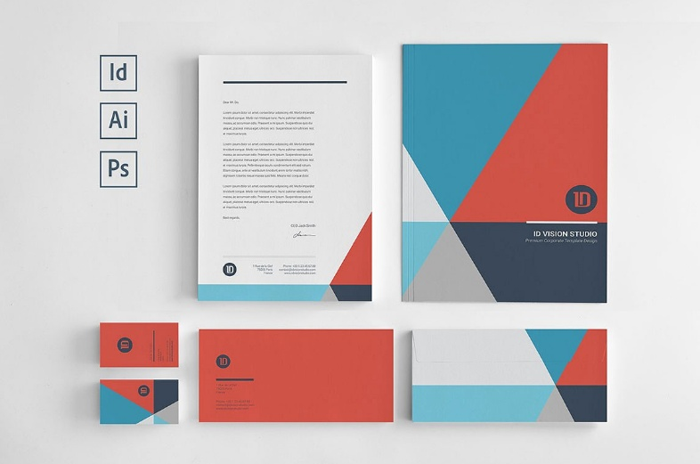 Corporate Stationary Template PSD