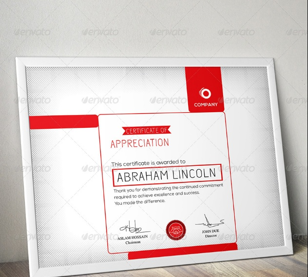 Corporate Training Certificate Template
