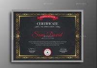 Customizable Training Certificate Template