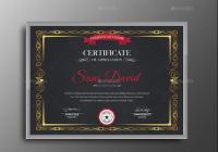 Customizable Training Certificate Template