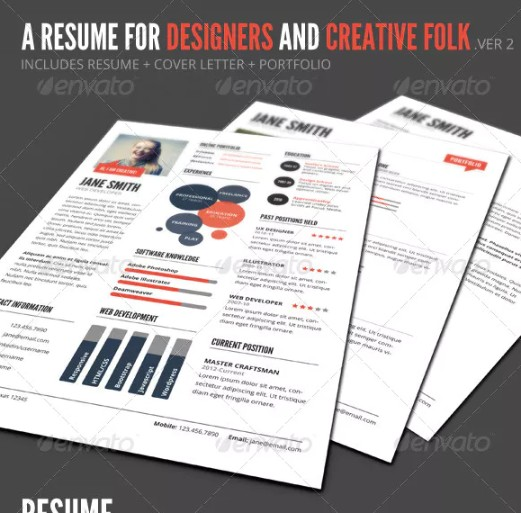 Designer Resume Template Word