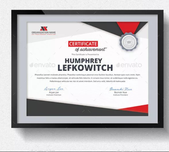 Easy Editable Diploma Certificate Template