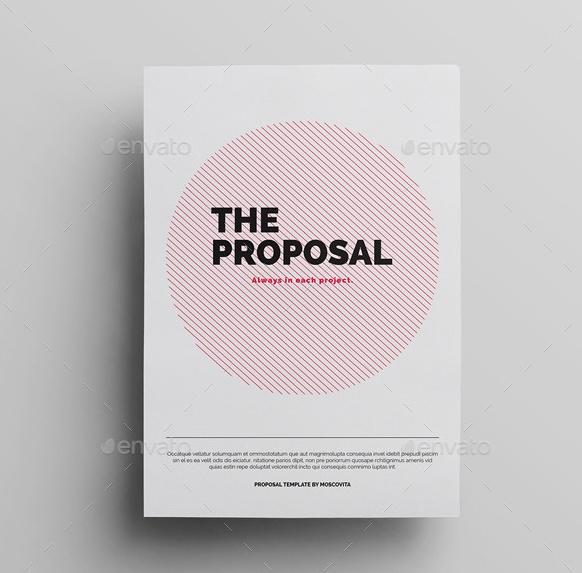 Editable Proposal Template PSD