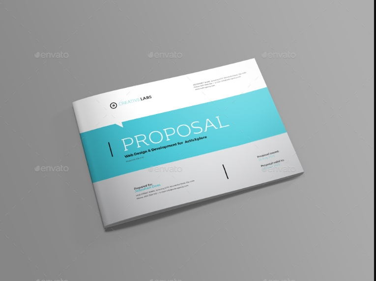 Editable Sales Proposal Template